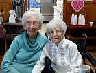 Happy 90th Birthdays Catherine and Olga